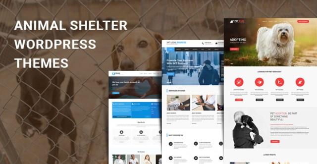 animal rescue WordPress themes