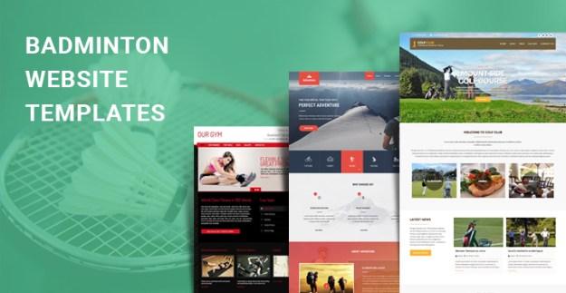 badminton WordPress themes