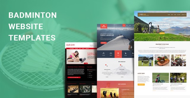 badminton WordPress themes