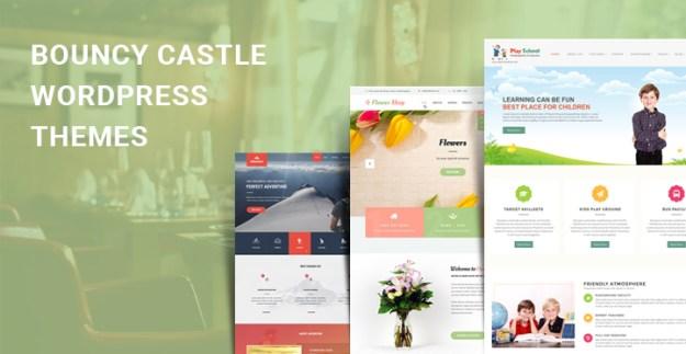 bouncy castle WordPress themes