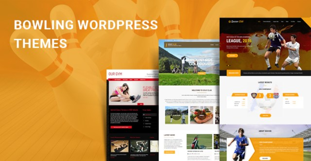 bowling WordPress themes