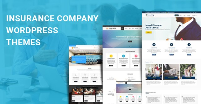 insurance company WordPress themes