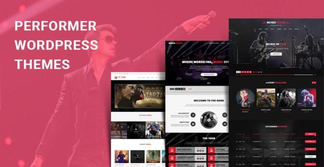 performer WordPress themes