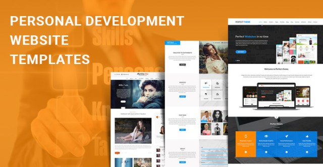 personal development WordPress themes