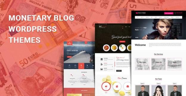 monetary blog WordPress themes