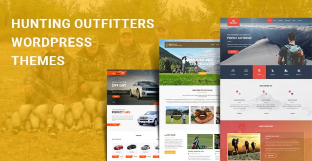 Hunting Outfitters WordPress Themes
