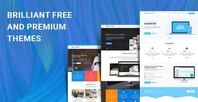 brilliant free premium themes