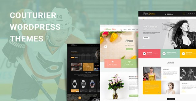 couturier WordPress themes