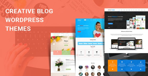 creative blog WordPress themes