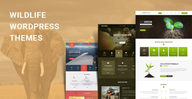 Wildlife WordPress themes
