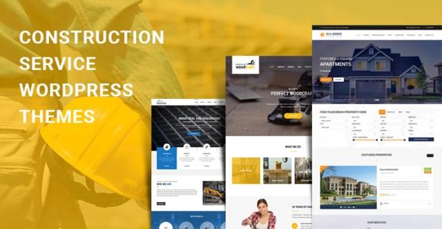 Construction Service WordPress Themes