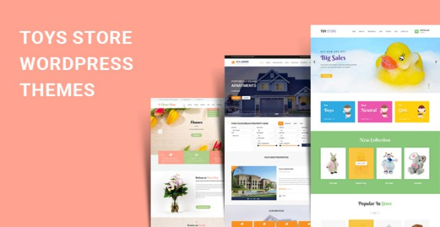 baby store WordPress themes