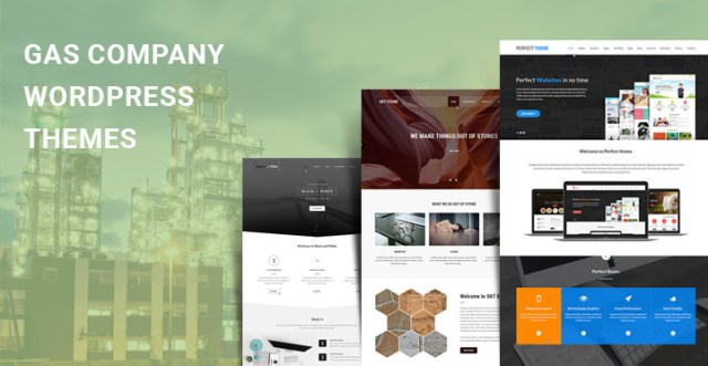 Gas Company WordPress Themes