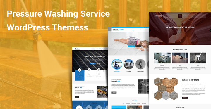 6 Pressure Washing Service Wordpress Themes For Washing Cleaning