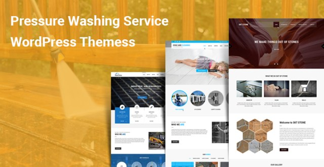 Pressure Washing Service WordPress Themes
