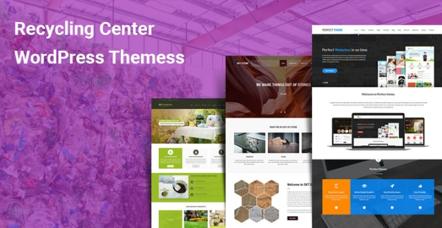 Recycling Center WordPress Themes