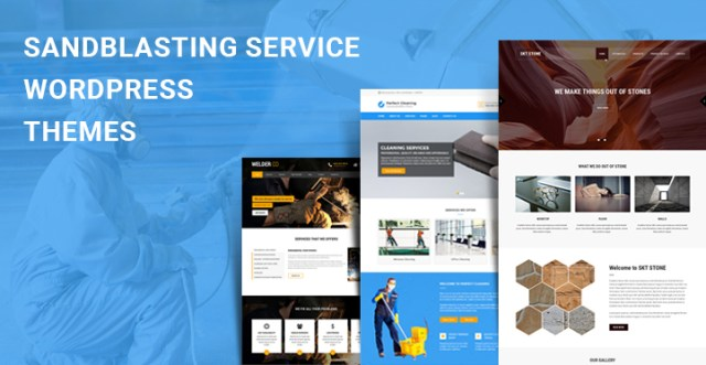 Sandblasting Service WordPress Themes