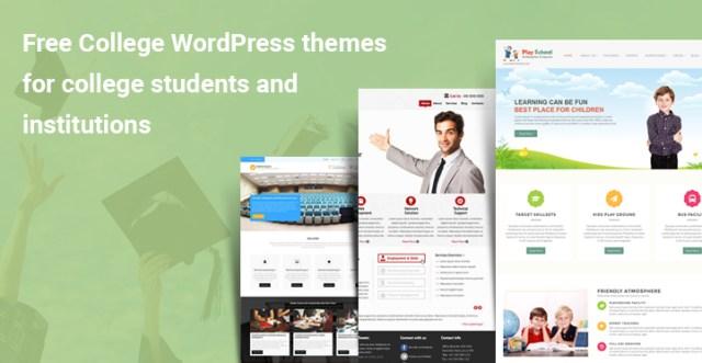 Free College WordPress Themes