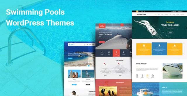 Swimming Pools WordPress Themes