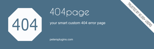 404 pages in WordPress