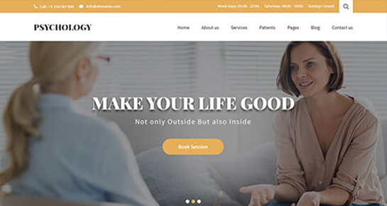 psychologist-WordPress-theme
