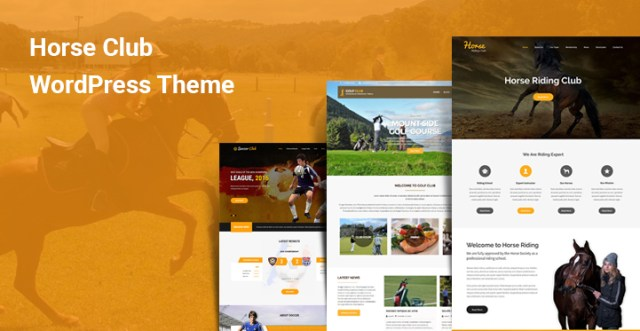 Horse Club WordPress Themes