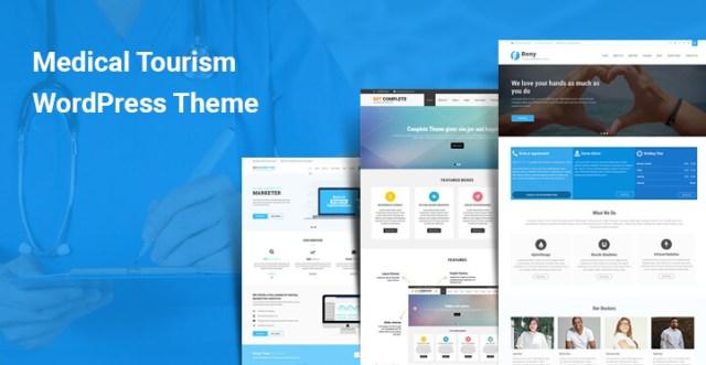 Medical Tourism WordPress Themes