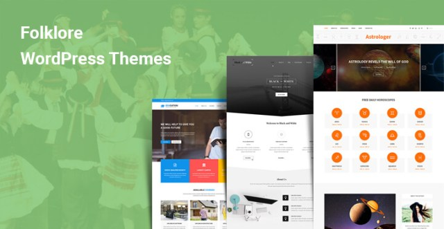 Folklore WordPress Themes