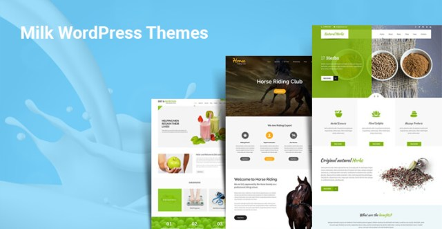 milk wordpress themes