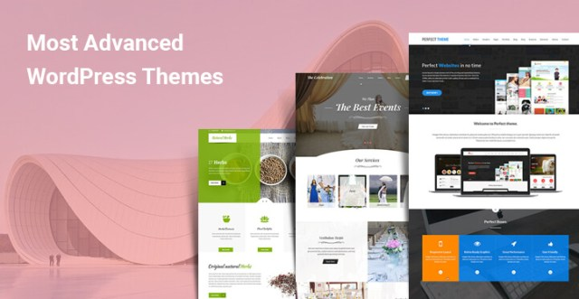 most advanced wordpress themes