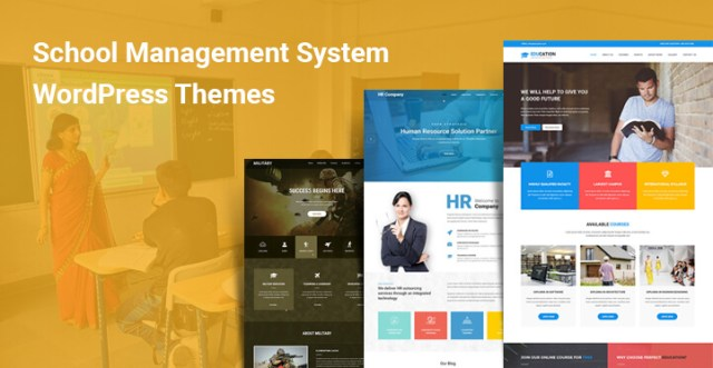 school management system wordpress themes