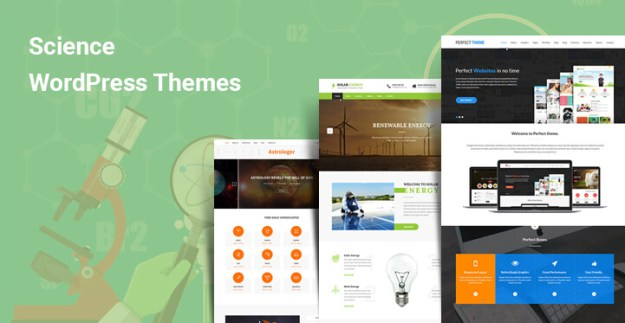 science wordpress themes