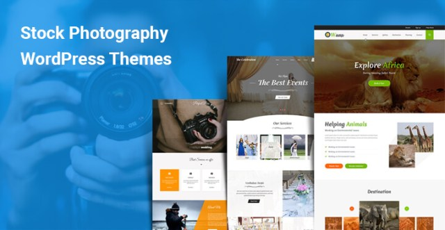 Stock Photography WordPress Themes