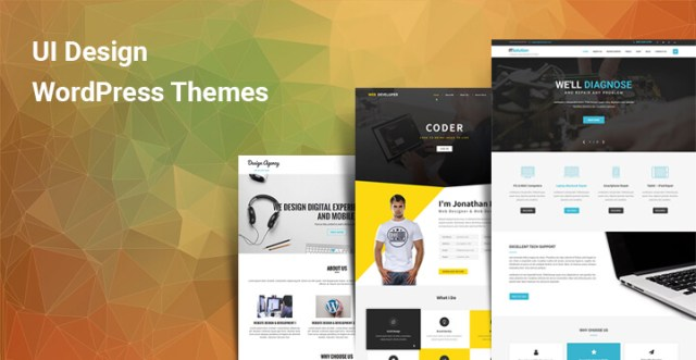 UI Design WordPress Themes