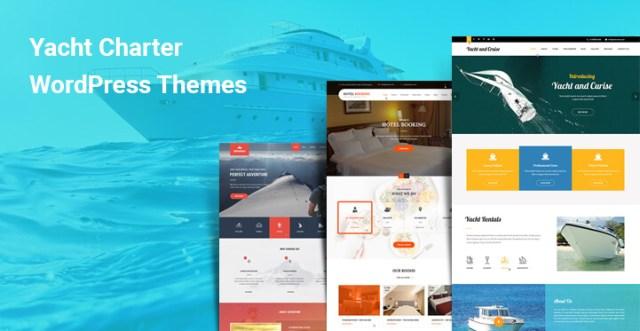 yacht charter wordPress themes
