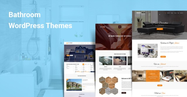Bathroom WordPress Themes