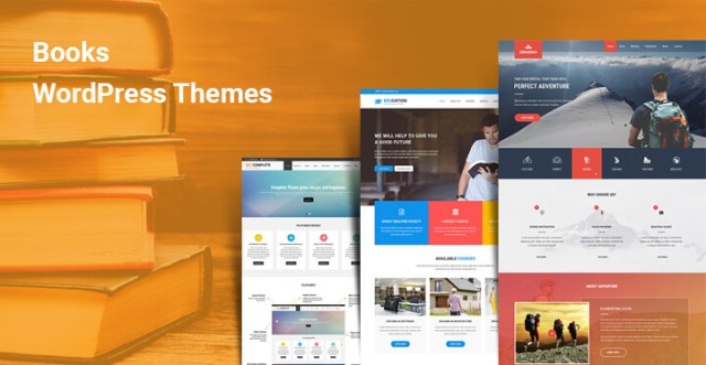Books WordPress Themes
