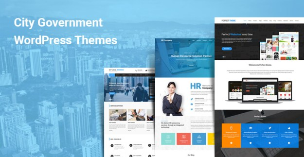City Government WordPress Themes