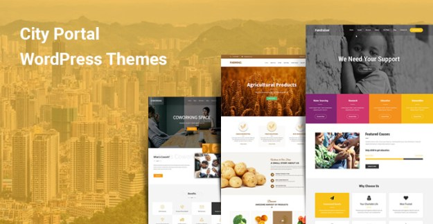 City Information WordPress Themes