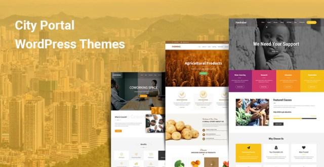 City Information WordPress Themes