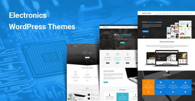 Electronics WordPress themes