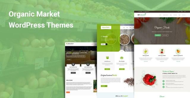 Organic Market WordPress Themes