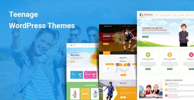 Teenage WordPress Themes