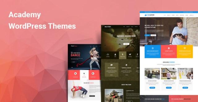 Academy WordPress themes