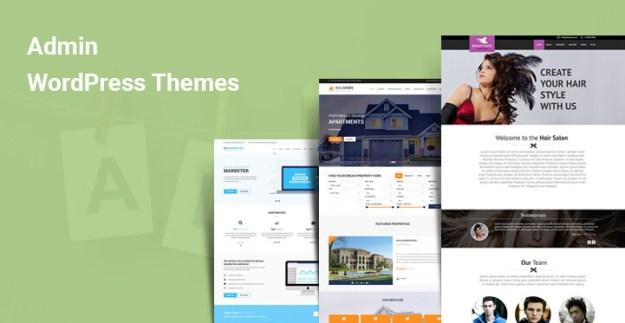 Admin WordPress theme