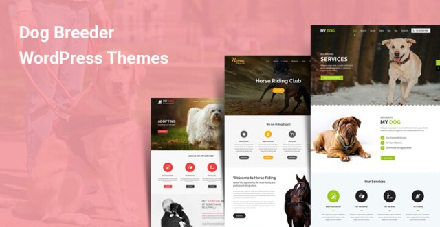 Dog Breeder WordPress Theme