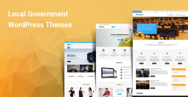 Local Government WordPress themes