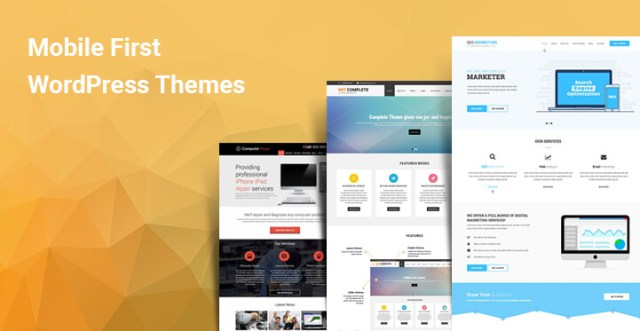 Mobile First WordPress themes