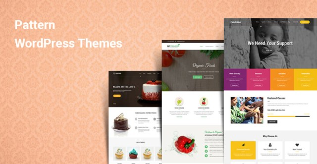 Pattern WordPress themes