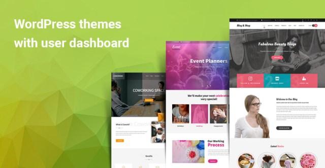 WordPress themes with user dashboard
